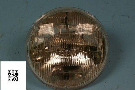 Corvette C1 C2 C3 RH Dip, Sealed Beam, Main Beam Lamp Wagner H5006, Used Fair